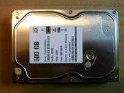 Festplatte 500GB 3 5
