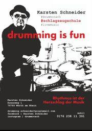 Schlagzeugschule Karsten Schneider Unterricht vom