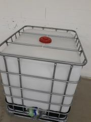 Wassercontainer 1000 ltr IBC