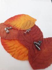 Ohrringe Silber 3 Paar