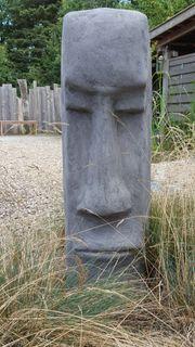 Skulptur Gartenskulptur Moai Osterinsel
