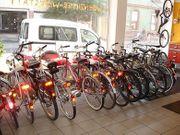 Gewartete Fahrräder Gebrauchträder mit Garantie