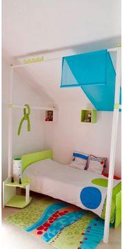 VIBEL Jugendzimmer Kinderzimmer Schreibtisch Bett