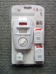 Bewegungsmelder Alarm inkl 2 Fernbedienungen
