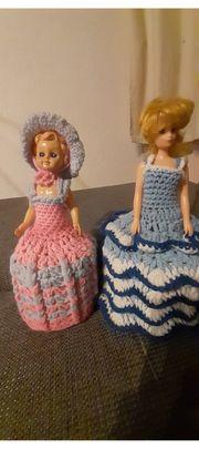 Klorollen Puppen 70ger Jahre gut