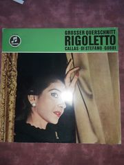 Maria Callas LP Rigoletto Grosser