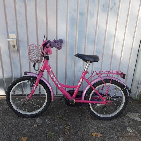 Kinderfahrrad in pink