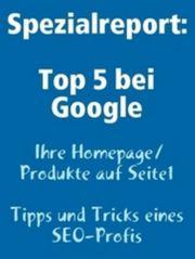 Top bei Google - Ihre Homepage