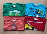 Bekleidungspaket zum rumräubern - 4 Shirts -