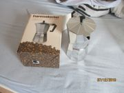 neuer espresso kocher für 6