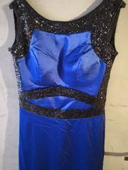 blaues Abendkleid VB