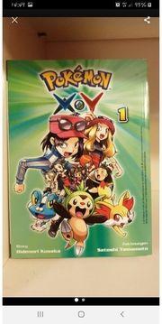 Pokemon X Y Manga 1-6