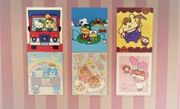 Animal crossing 6x Sanrio Poster