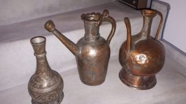 3 Kupferkannen - auch einzeln abzugeben -