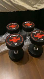 Kurzhantel 2x 15 kg 2x