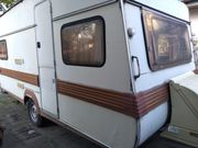 Wohnwagen zuletzt 2018 im Gebrauch