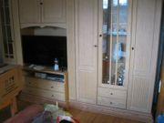 Wohnzimmerschrank Front Pinie massiv