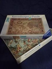 Ravensburger Puzzle Weltkarte 2000 Teile