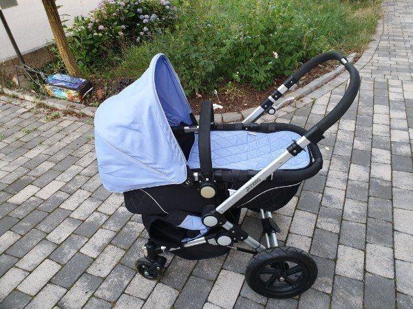 Neuer Kinderwagen