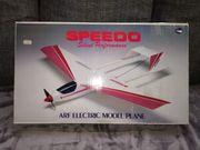 Vintage Elektro RC Flugzeug SPEEDO