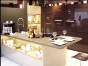 Neue Einbauküche Insellösung aus Ausstellung