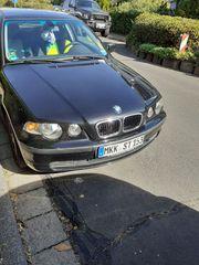 BMW 316 TI scharz