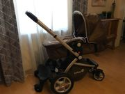 Kombikinderwagen mit Buggyaufsatz Babywanne und