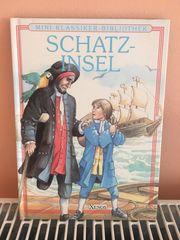 Mini-Klassiker-Bibliothek Schatzinsel
