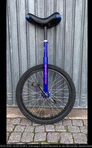 Einrad blau