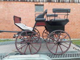 Zubehör Reit-/Pferdesport - Kutsche Marathonwagen ein- und zweispännig