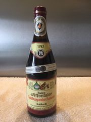 Affentaler Spätburgunder 1983 Wein