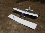 Elektroflug-Oldtimer - Flying Box - mit zwei