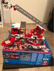 Playmobil Feuerwehr Drehleiterfahrzeug
