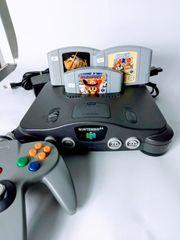 Nintendo 64 N64 Konsole Komplett
