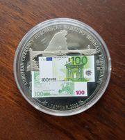 Medaillie Europäische Währung Euro