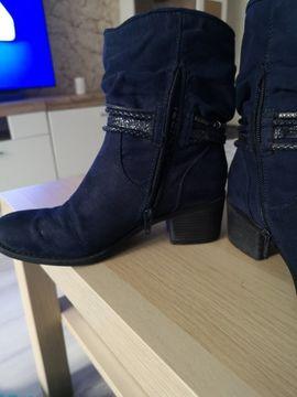 Blaue Stiefeletten Grösse 37: Kleinanzeigen aus Gleina Müncheroda - Rubrik Schuhe, Stiefel