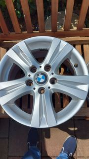 5x Original BMW Alu Felgen