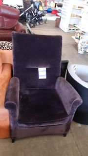 Sessel mit Funktion aus Samt -