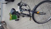 Ich verkaufe ein funktionierendes Fahrrad