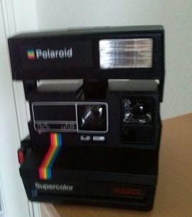 Digitalkameras, Webcams - Polaroid 600 Sofortbildkamera mit Tasche