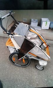 Fahrradanhänger 2 Kinder chariot croozer