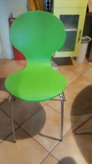 Designer Küchenstuhl grün B 44