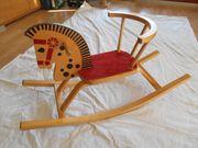 Kinderschaukelstuhl Schaukelstuhl aus Holz Schaukelpferd