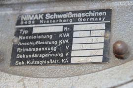 Bild 4 - Punktschweißzange Nimak Punktschweißmaschine - Oftersheim