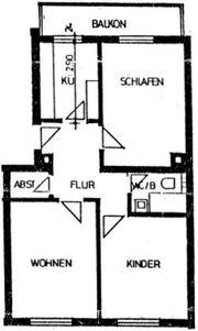 Schöne 3-Zimmerwohnung Nähe Bahnhof in