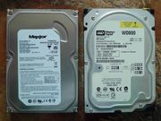 IDE Festplatten HDDs PATA zwei