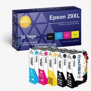 5x Premium-Tintenpatronen für Epson Drucker