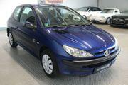 Peugeot 206 chinablau zu verkaufen
