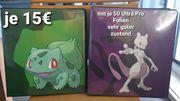 Pokemon Sammelordner mit 50 Folien