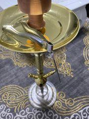 Shisha Wasserpfeife Gold Edition Alu